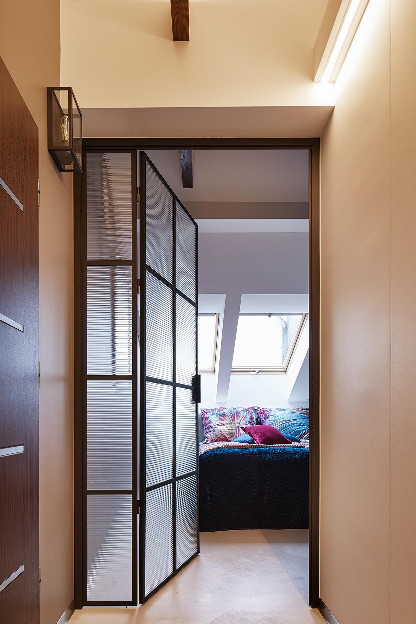 drzwi pojedyncze wewnętrzne ze szkłem gdel