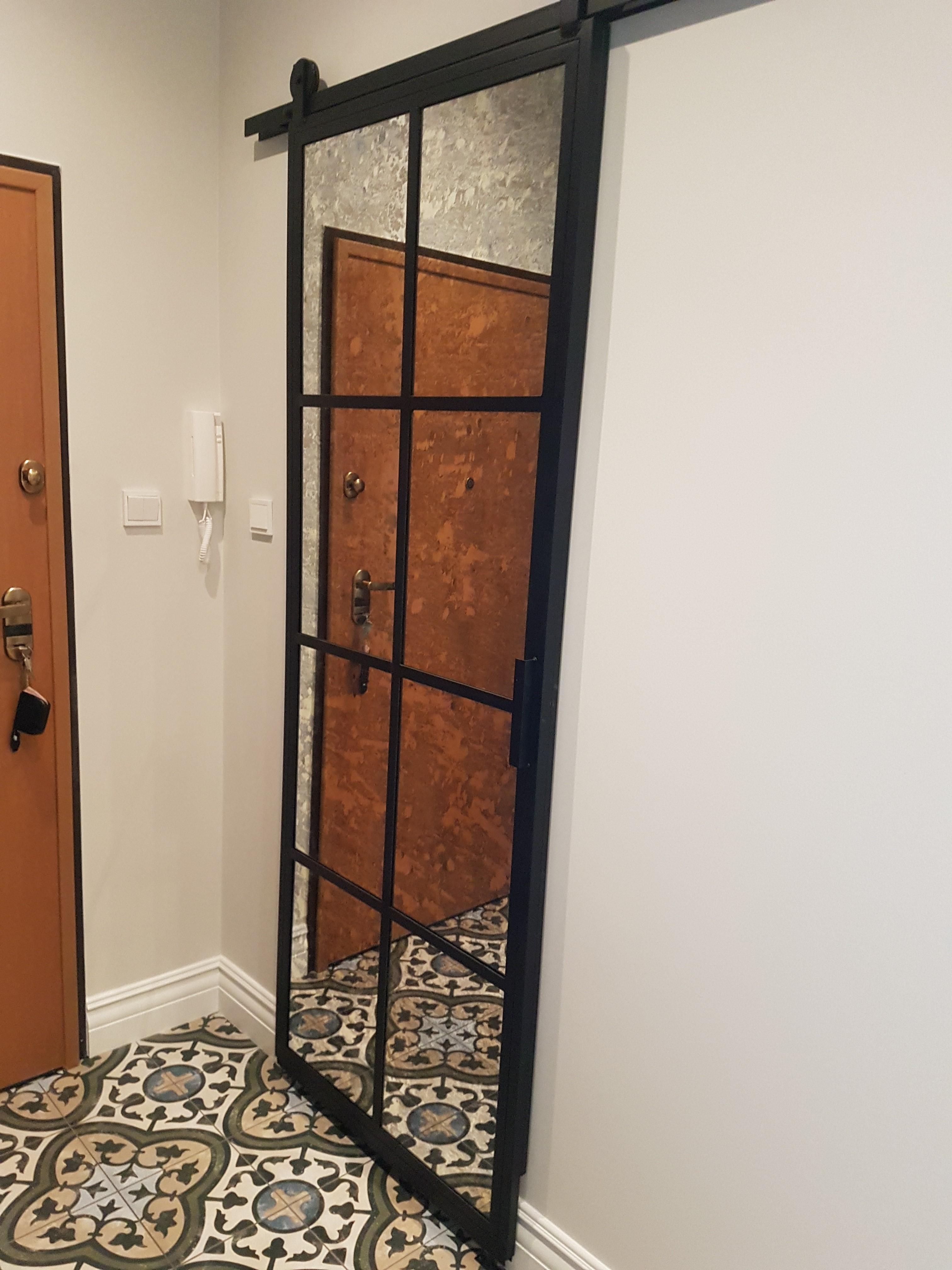 drzwi lustrzane przesuwne gdel